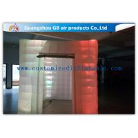 Wholesale Cool Portable Cube Led Photo Booth Inflatable Decorative Lighting UV Resistant from china suppliers