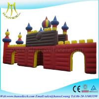 Wholesale Hansel popular PVC inflatable island for commercial castle from china suppliers