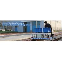 Double Tracks Running Rail Detection Automated Guided Vehicle For
