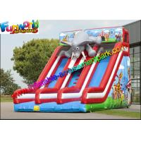 Wholesale EN14960 Commerical grade inflatable slide , elephant inflatable dry slide with repairt kits from china suppliers
