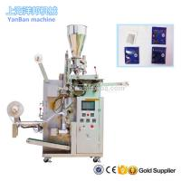 Wholesale YB-180C Automatic tea/herbs/coffee inner and outer bag packing machine with high quality from china suppliers