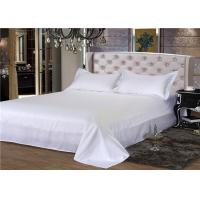 Wholesale King Size Hotel Bed Linen 330T Satin White And 100% Cotton Personalized from china suppliers