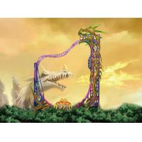 Wholesale Unique Magic Amusement Theme Park Loop Roller Coaster Rides Equipment from china suppliers