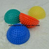 Wholesale Wholesales Cheap Price PVC Small Inflatable Foot Massage Ball Half Bearing Massager from china suppliers