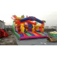 China inflatable bouncer  with slide Inflatable Bounce House and Slide Combo on sale