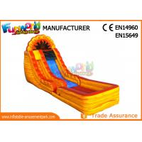 China Clearance Adult Size Giant Inflatable Water Slide For Amusement Park on sale