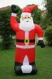 Wholesale 420D PVC coated nylon huge  santa claus  Inflatable Christmas outdoor Decorations with CE from china suppliers