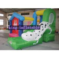 Wholesale Amusement Park Commercial Bouncy Castles With Dalmatians Slides For Rental from china suppliers