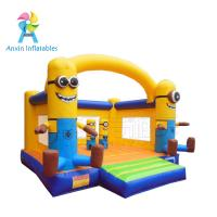 Wholesale Backyard Kids fairy pink princess inflatable bouncer castle moonwalk combo from china suppliers