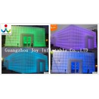 China 10X10 Inflatable Cube Tent For Party Event Wedding with LED light Tent-313 on sale