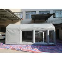 Wholesale Water Proof Inflatable Spray Booth Airtight Frame Mobile Car Tent from china suppliers
