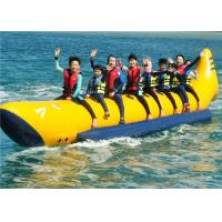 China Customize 0.9MM PVC Inflatable Boat Toys Towable Flyfish For 4/6 Person Use on sale