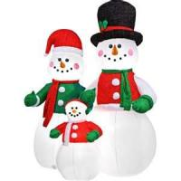 Wholesale Large inflatable snowman outdoor Christmas Decorations for advertising, Christmas festival from china suppliers