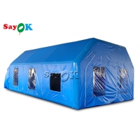 Wholesale Mobile Oxford Inflatable Paint Spray Booth With Logo Printing from china suppliers