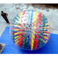 Wholesale Shinning Colorful PVC Body Inflatable Zorb Ball Customized With D-rings For Show from china suppliers
