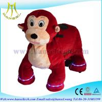 Wholesale Hansel coin operated battery animals motorized plush animals from china suppliers