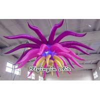 Wholesale Hanging Inflatable Flower with LED Light for Party and Concert Supplies from china suppliers