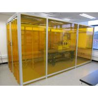 Wholesale Adjustable Speed Softwall Clean Room , Filter Cleaning Booth Suspended Or Floor Standing from china suppliers