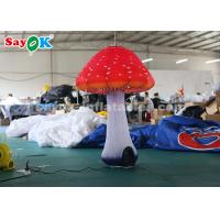 Wholesale 1.5m Inflatable Lighting Decoration / Inflatable Mushroom For Festival from china suppliers