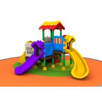 Wholesale Outside Kids Plastic Playground Equipment For Kindergarten Simple Construction from china suppliers