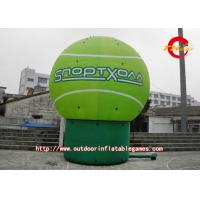 Wholesale Green Round Huge Advertising Balloons Can Be Printed In Print Ads from china suppliers