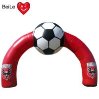 Wholesale Red Inflatable Football Entrance Arch for special time advertising from china suppliers