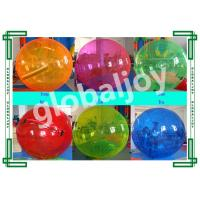 Quality TPU / PVC Inflatable Water Walking Ball / Roll Inside Walk On Water Ball for sale