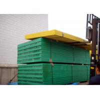 Wholesale Green Plastic Grate Covers , 1220 X 3660 Fibreglass Reinforced Plastic Grating from china suppliers