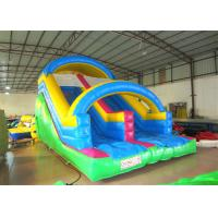China Attractive Arch Water Jump House , Outdoor Games Inflatable Garden Water Slide on sale