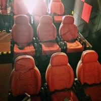 Wholesale Excellent Design Electric 5D Theater Seats For Mini Cinema Red Color from china suppliers