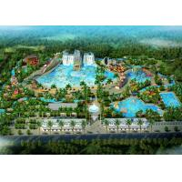 Wholesale Amusement Park / Water Theme Park Concept Design Customized Size from china suppliers