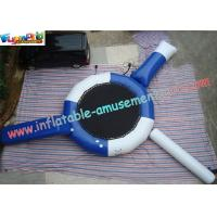 Wholesale Durable Commercial Grade 0.9mm PVC Inflatable Water Trampoline Toys for amusement park from china suppliers