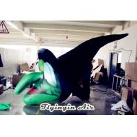 Wholesale Customized Wicked Inflatable Witch Head for Halloween Decoration from china suppliers