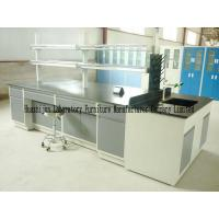 Wholesale Cold Rolled Steel Lab Furniture , Island Table For Laboratory With Under Storage from china suppliers