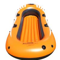China Eco Friendly 4 Person Pvc Inflatable Boat Set With 4 Set Oars on sale