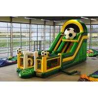 Wholesale CREEZ Long Inflatable Soft Bouncer , Childrens Bouncy Castle Easy To Clean from china suppliers