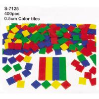 Wholesale Plastic Color Tiles, Educational Toys, Color Tiles 0.5cm (S-7125) from china suppliers