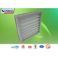 China Aluminum Frame Washable Pleated Panel Pre Air Filters For Ventilation System on sale