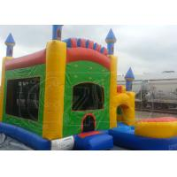 China Safety Inflatable Jumping Castle / Magic Castle Bounce House 0.55mm PVC on sale