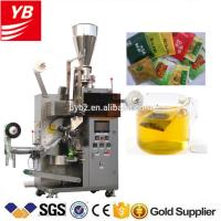 Wholesale YB-180C automatic green tea bag with thread and tag packing machine 5g 10g from china suppliers