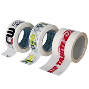 OEM Logo High Temperature Adhesive Tape Bopp Jumbo Roll , High Heat Resistant Tape