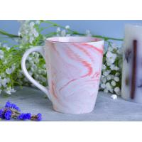 Wholesale Marble patterned ceramic candle holders ceramic mug sets for coffee or tea drinking from china suppliers