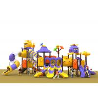 Wholesale Anti UV Toddler Outdoor Play Equipment , Plastic Childrens Outdoor Swing And Slide Set from china suppliers