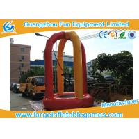 Wholesale 3m Diameter Euro Inflatable Bungee Trampoline , Outdoor Portable Inflatable Trampoline Rental from china suppliers