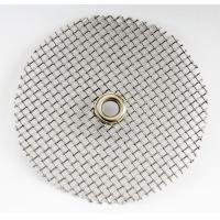 Wholesale Round Stainless Steel Wire Cloth Discs For Solid Gas Separation / Filtering Oil from china suppliers