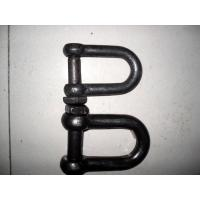 Wholesale Durable Rigging Hardware Trawling Chain Shackle With Square Head Screw Pin from china suppliers