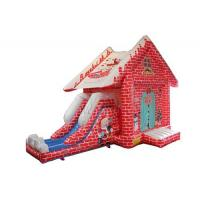 China Themed Inflatable Bounce House With Slide For Christmas Eve Normal Structure on sale