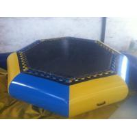 Wholesale Customzied Inflatable Water Toys , Inflatable Water Trampoline For Jumping from china suppliers