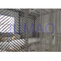 Wholesale Rust Resistance Half Sheer Metal Mesh Curtains For Hall Divider 1.0mm Wire from china suppliers