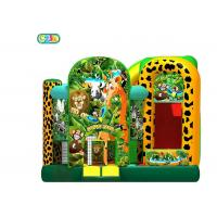 Wholesale Customized Inflatable Bounce House Combo Safari Park Bounce Castle 3 Years Warranty from china suppliers